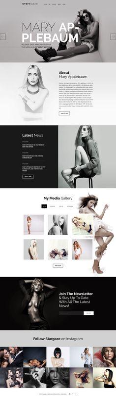 Celebrities WordPress Theme - https://www.templatemonster.com/wordpress-themes/58925.html