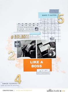 Paper Scrapbook Insp