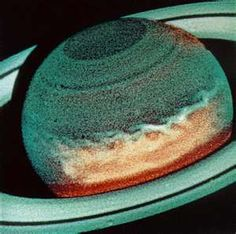Hubble picture of Saturn