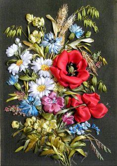 Gallery.ru / Фото #53 - вышивка лентами 2015 год - pskov-sveta