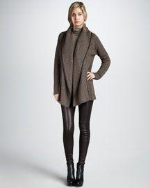 Bergdorf Goodman Vince Leather Leggings $1250.00