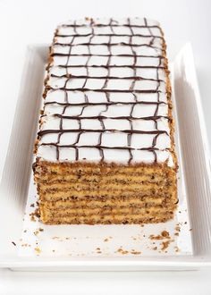Honey Cake!   Provereni recepti. Cooks and Bakes: Jelenina Esterhazi torta