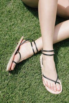 Cora Wrap Sandal