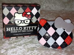 •♥ HELLO KITTY ♥• LIMITED EDITION Head of the Class Compact Mirror! •♥ Super Cute