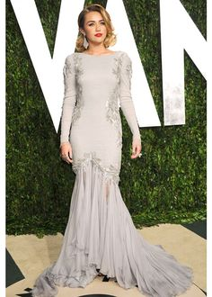 Miley Cyrus / Oscars 2012 Vanity Fair after-party
