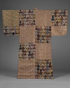 Noh robe. Edo period (1615–1868) 19th century. Japan. Silk