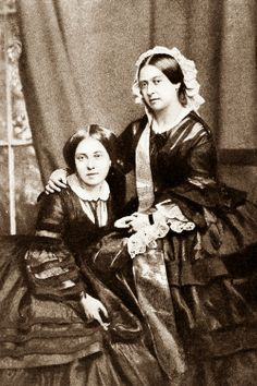 Queen Victoria and her daughter Victoria Princess Royal