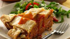 Enchilada Meatloaf Pie