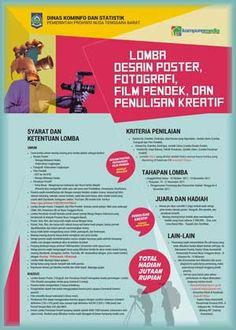 #LombaPoster #LombaFoto #LombaFilmPendek #LombaMenulis Lomba Desain Poster, Fotografi, Film Pendek dan Penulisan Kreatif 2017 Berhadiah Total 60 Juta Rupiah  DEADLINE: 15 November 2017  http://infosayembara.com/info-lomba.php?judul=lomba-desain-poster-fotografi-film-pendek-dan-penulisan-kreatif-2017-berhadiah-total-60-juta-rupiah