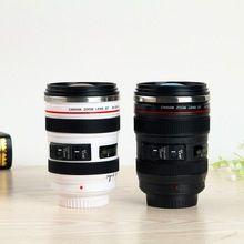 Camera Lens Shape Cup Coffee Tea Travel Mug Stainless Steel Vacuum Flasks(China…