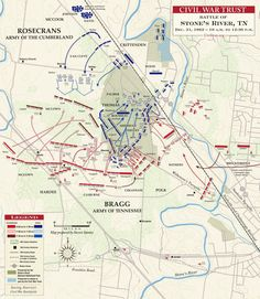 The Battle of Stones River, 31 DEC 1862,  10-1 P.M.
