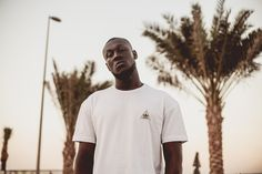 Stormzy Steps out in adidas Originals Apparel for an Exclusive Shoot at Sole DXB