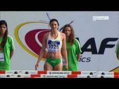 Michelle Jenneke Women's 100m Hurdles sexy dance Barcelona 2012 comple…