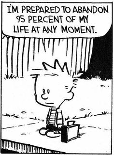 Oh Calvin aren't we alll
