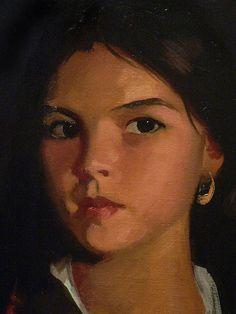 Robert Henri Paintings | Bernadita by Robert Henri United States 1922 Detail | Flickr - Photo ...