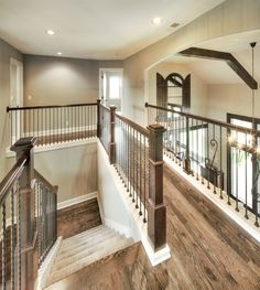 Hardwood Floors: Upstairs Hall Hardwoods http://www.bickimerhomes.com/