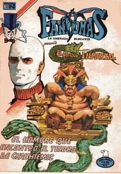 Comic Fantomas, la amenaza elegante. Editorial Novaro