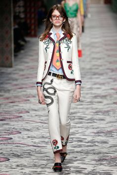 Gucci | Spring 2016 | Look 12