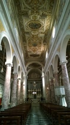 Het interieur van de kathedraal