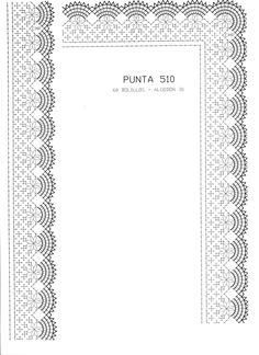 renda de bilros / bobbin lace patterns