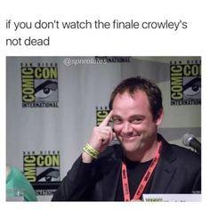 Mark Sheppard as Crowley