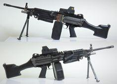 Weapons Guns, Guns And Ammo, Light Machine Gun, Custom Guns, Military Guns, Tactical Gear, Firearms, Hand Guns, Survival