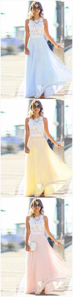 Elegant Sleeveless Lace Chiffon Evening Party Dress, Shop plus-sized prom dresses for curvy figures and plus-size party dresses. Ball gowns for prom in plus sizes and short plus-sized prom dresses for Elegant Homecoming Dresses, Grad Dresses, Elegant Dresses, Pretty Dresses, Bridesmaid Dresses, Formal Dresses, Wedding Dresses, Bridesmaids, Chiffon Evening Dresses