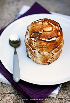 French Earl Grey Ice Cream and Passionfruit Baked Alaska... I really just want the earl grey ice cream.