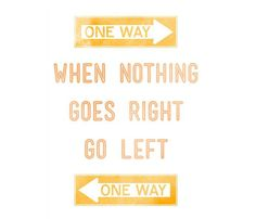 One way ---> ...... <---