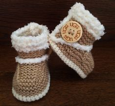 Hand Knitted Baby Booties/Boots/Slippers/Shoes by FunkyKnitsUK
