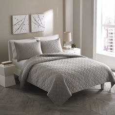 City Scene Moroccan Medallion Stone Cotton 3-piece Quilt Set | Overstock.com Shopping - Great Deals on City Scene Quilts