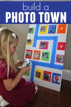 Toddler Approved!: Build an Around Town Photo Wall