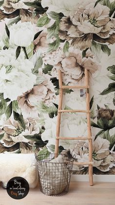 49 Ideas Wall Stickers Floral Self Adhesive Wallpaper For 2019 Wall Murals, Wall Art, Blush Bouquet, Self Adhesive Wallpaper, Flower Wallpaper, Wallpaper Art, My New Room, Vinyls, Wall Stickers
