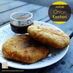 Jaipuri Onion Kachori Recipe : http://divinespicebox.com/2013/11/16/jaipuri-onion-kachori/