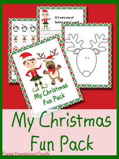 Exclusive FREEBIE: My Christmas Fun Pack {17 printable pages} - Frugal Homeschool Family