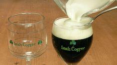 Een goede Irish coffee, daarvoor mag je ons wakker maken. Er zijn tal van manieren waarop je Irish coffee kunt maken. De een zweert bij Jameson Whiskey en weer een... Glass Of Milk, Wine Glass, Coffee Van, Coffee Cocktails, Irish Coffee, Other Recipes, Cocktail Recipes, Smoothies, Alcoholic Drinks