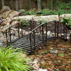 Coral Coast Willow Creek 4-ft. Metal Garden Bridge $199.98