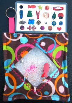I Spy Bag  Mini with Sewn Word List and by TheCraftingCorner, $8.00