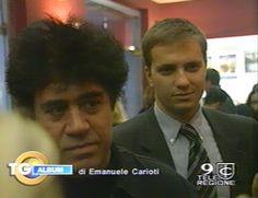 Con il grande regista Pedro Almodovar @ Prima Carne Tremula a Roma - 10/11/1997 2