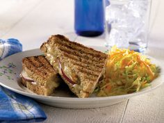 Cheddar & Pear Panini http://www.cabotcheese.coop/recipes/cheddar-pear ...