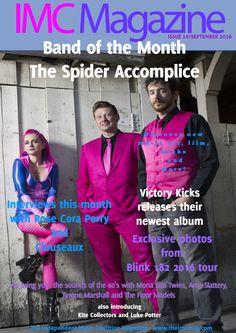 Issue 19 / September 2016 Blink 182, Victorious, Kicks, Interview, September, Magazine, Album, Film, Music
