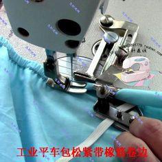 Aliexpress.com: Compre Industrial máquina de costura acessórios pacote de borracha rolo de tração de beader hem punhos elásticos de confiança scanner da máquina fornecedores em China's speed to sell through