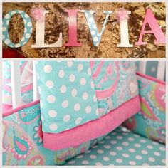 Olivia...one of our top names :) DIY painter letters