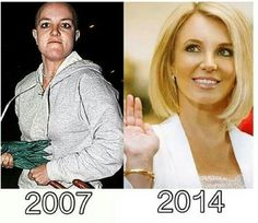 You can't get through anything if Britney made it