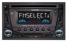 UNIDAD CD DOBLE DIN.Compatible con CD/CDRW/MP3/WMA, bluetooth,USB 2.0,lector para tarjeta SD y carátula extraíble