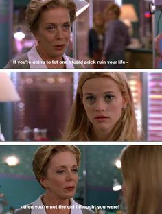 Elle sought out the advice and support of other women. | 23 Times Elle Woods Empowered You As A Woman
