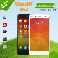 "Cheap gps external, Buy Quality gps jammer directly from China gps camera car Suppliers: 		  	Original XiaoMi Mi4 M4 Phone 5.0""FHD JDI Screen Qualcomm Snapdragon 801 3GB RAM 8MP Front Camera Android"