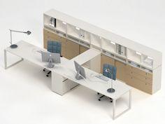 Descarga el catálogo y solicita al fabricante Joint By estel group, escritorio de oficina operativo con estantes, Colección estel office