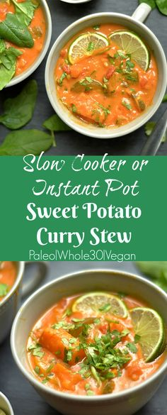 Easy, healthy, and delicious meal made in either the Instant Pot or Slow Cooker!