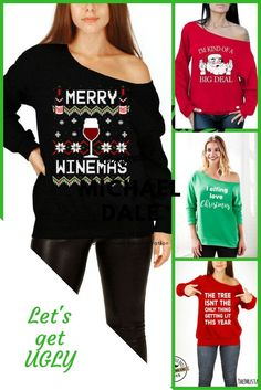 Start your holidays off right with one of these beauties. I know I have a couple ladies in my life that will love this! #gifts #giftsforher #funny #winelover #holidays #fashion #uglysweater #sweaters #christmasgifts #christmas